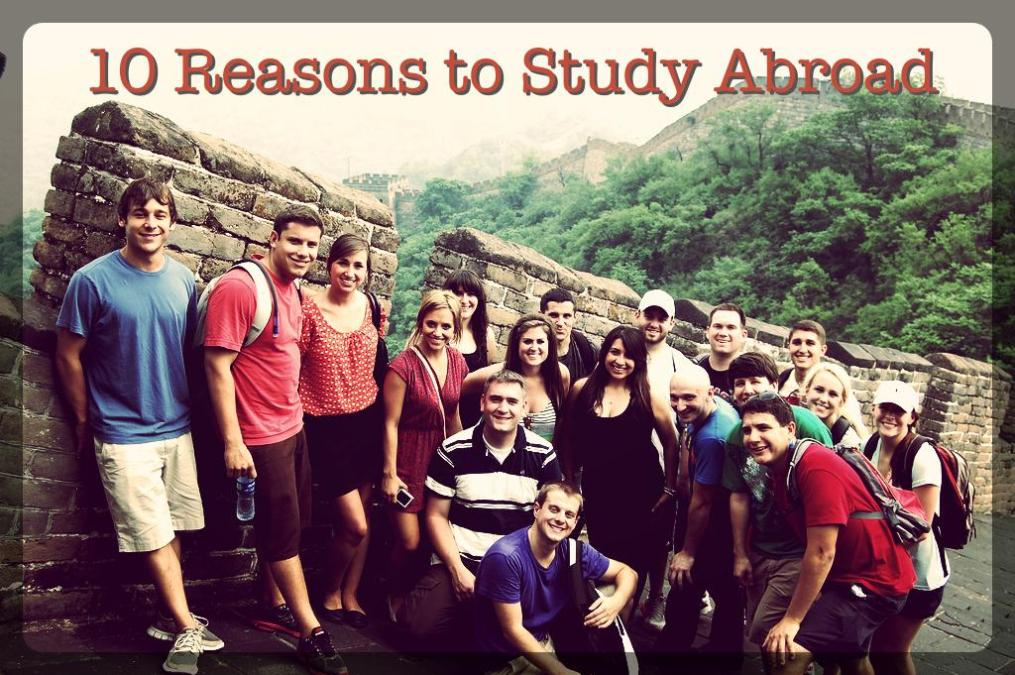 reason for studying abroad essay These 10 study abroad essay tips will and really think about what it is that has made studying abroad so it's okay if the main reason why you want to.