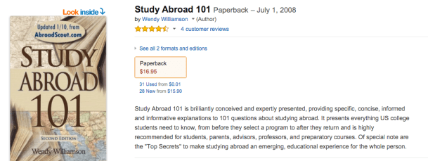 Study Abroad 101 - Book Review
