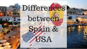 Differences between Spain and the US