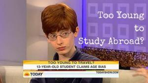 Too Young to Study Abroad