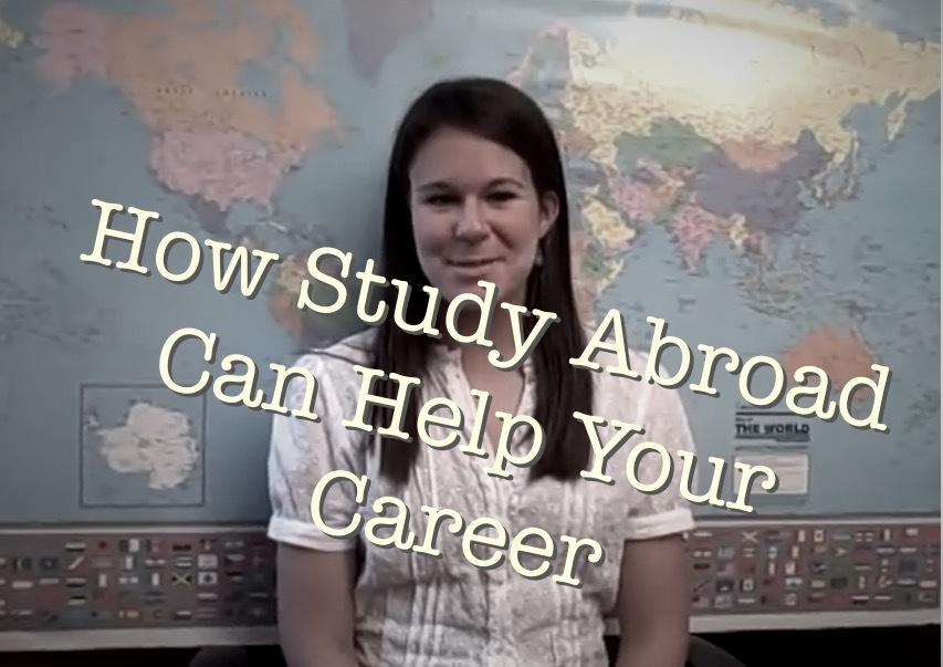 How Study Abroad Can Help Your Career – Video