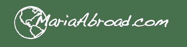 MariaAbroad Logo white