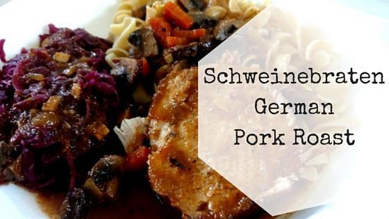 German Pork Roast Recipe – Schweinebraten