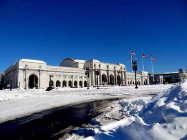 Snow Day in Washington DC 1