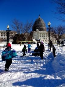 Snow Day in Washington DC 4