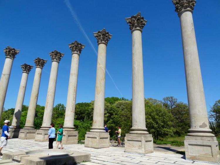 Capitol Columns - National Arboretum Washington DC