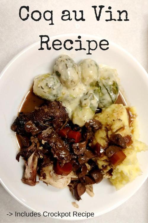 Coq au Vin Crockpot Recipe