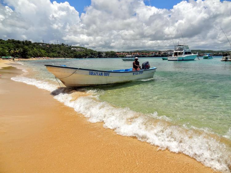 Snorkeling at Sosua Beach