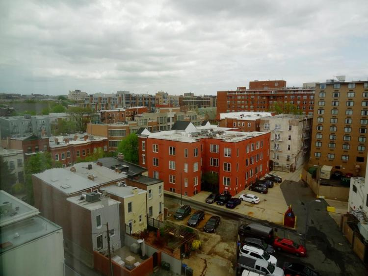 Hotel Rouge Washington DC View from the 9th floor