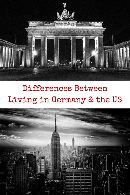 Differences Between Living in Germany and the US - Culture