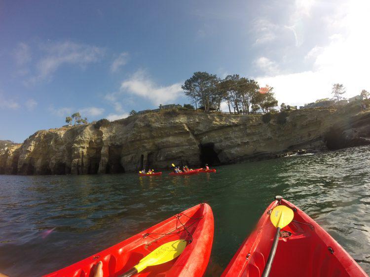 Kayaking in San Diego - Bike and Kayak Tours