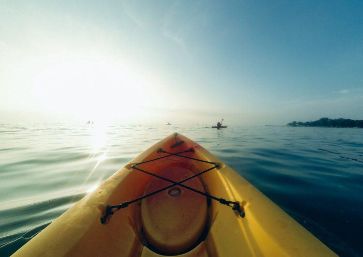 Kayak - Staying in Shape while traveling