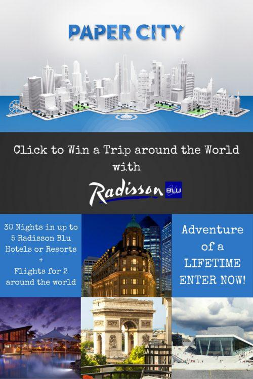 Win a trip around the world with radisson blu maria abroad for All inclusive around the world trip