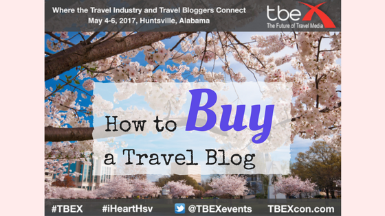How to Buy a Travel Blog